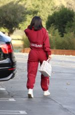 KYLIE JENNER Arrives at Starbucks in Los Angeles 02/12/2018
