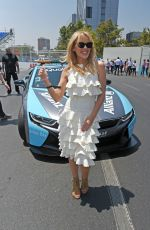 KYLIE MINOGUE at ABB FIA Formula E-Prix in Santiago 02/03/2018