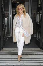 KYLIE MINOGUE Leaves BBC Radio 2 Studios in London 02/24/2018