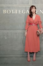 KYOKO HASEGAWA at Bottega Veneta Show at New York Fashion Week 02/09/2018