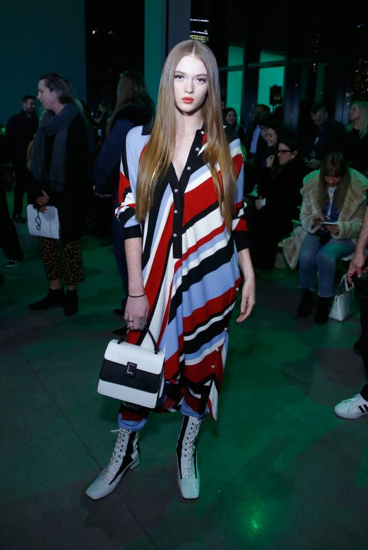 LARSEN THOMPSON at Adam Selman Fashion Show at NYFW in New York 02/08/2018