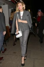 LAURA WHITMORE at Covent Garden 1st Birthday Party in London 01/31/2018
