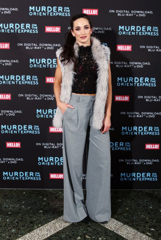LAURA WRIGHT at Screening of Murder on the Orient Express to Celebrate Blu-Ray and DVD Release in London 02/26/2018