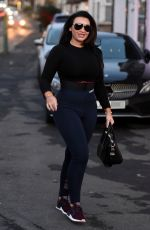 LAUREN GOODGER Out and About in Essex 02/05/2018