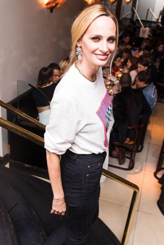 LAUREN SANTO DOMINGO at Frame Fifth Anniversary Dinner in New York 02/10/2018