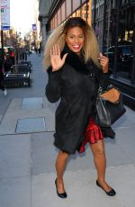 LAVERNE COX Arrives at AOL Build Series in New York 02/27/2018