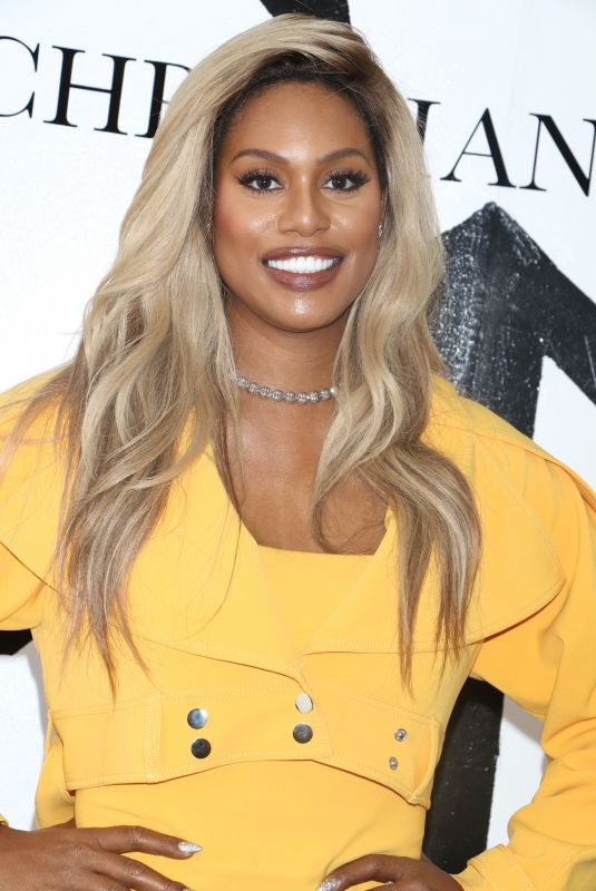 LAVERNE COX at Christian Siriano Fashion Show at NYFW in New York 02/10/2018