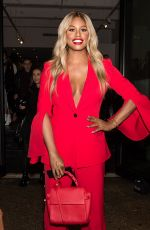 LAVERNE COX Leaves Prabal Gurung Fashion Show in New York 02/11/2018