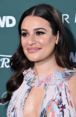 LEA MICHELE at CFDA, Variety and WWD Runway to Red Carpet Luncheon in Los Angeles 02/20/2018