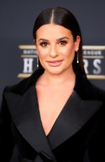 LEA MICHELE at NFL Honors at University of Minnesota in Minneapolis 02/03/2018