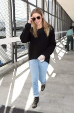 LEANN RIMES at LAX Airport in Los Angeles 02/20/2018