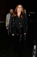 LEANNE BROWN and TANYA BARDSLEY Night Out in Wilmslow 02/03/2018