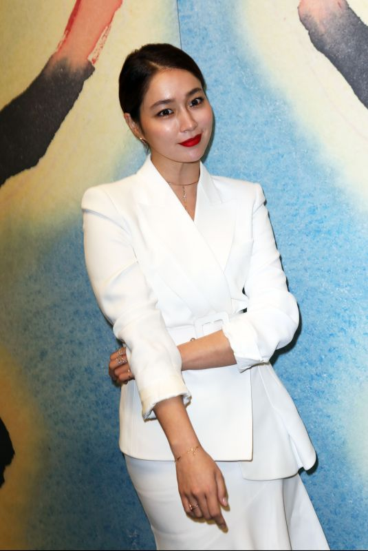 LEE MIN-JUNG at Michael Kors Show at New York Fashion Week 02/14/2018