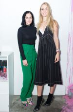 LEIGH LEZARK and SELBY DRUMMOND at Sandra Choi and Virgil Abloh Host NYFW Dinner in New York 02/11/2018