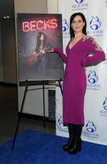 LENA HALL at Becks Premiere at Alamo Drafthouse Theater in Brooklyn 02/05/2018