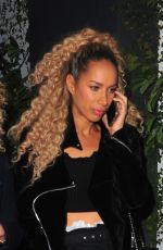 LEONA LEWIS at Dream Hotel in Los Angeles 02/25/2018