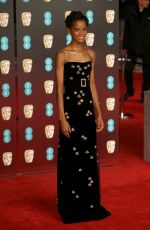 LETITIA WRIGHT at BAFTA Film Awards 2018 in London 02/18/2018