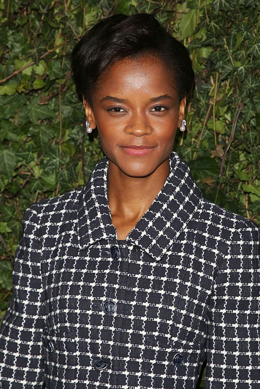 LETITIA WRIGHT at Charles Finch & Chanel Pre-bafta Party in London 02/17/2018
