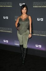LIANA MENDOZA at Unsolved the Murders of Tupac and the Notorious B.I.G. Premiere in Los Angeles 02/22/2018