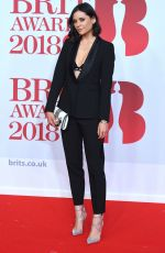 LILAH PARSON at Brit Awards 2018 in London 02/21/2018