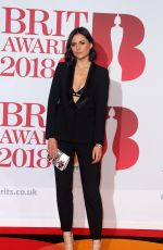 LILAH PARSON at Brit Awards 2018 in London 02/21/2018