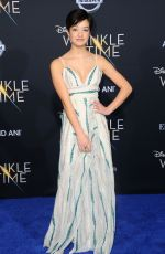 LILAN BOWDEN at A Wrinkle in Time Premiere in Los Angeles 02/26/2018
