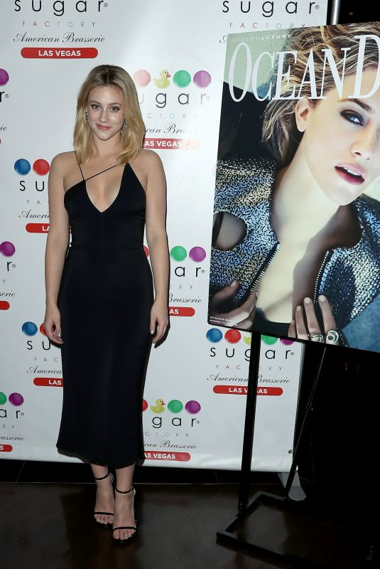 LILI REINHART at Ocean Drive Magazine Celebrates February Issue in Las Vegas 02/10/2018