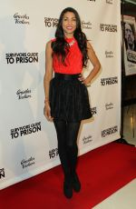 LILLY LAWRENCE at Survivors Guide to Prison Premiere in Los Angeles 02/18/2018