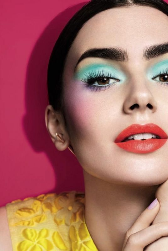 LILY COLLINS for Lancome Spring 2018 Makeup Collection