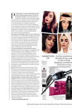 LILY COLLINS in Instyle Magazine, Poland March 2018 Issue