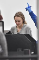LILY-ROSE DEPP at Los Angeles International Airport 02/18/2018