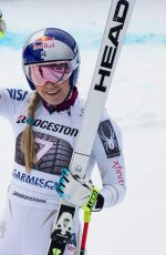 LINDSEY VONN Wins World Cup Downhill Race in Germany 02/04/2018