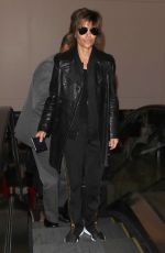 LISA RINNA at Los Angeles International Airport 02/27/2018