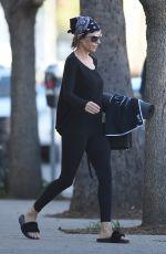 LISA RINNA Leaves Yoga Class in Los Angeles 01/31/2018