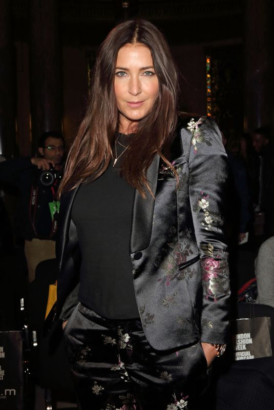 LISA SNOWDON at Pam Hogg Show at London Fashion Week 02/16/2018