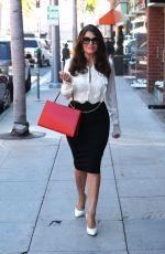 LISA VANDERPUMP Leaves Villa Blanca Restaurant in Beverly Hills 02/16/2018