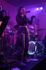 LIV DAWSON Performs at Bush Hall on the War Child Campaign at Brits Week in London 02/12/2018