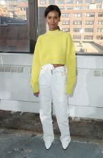 LIYA KEBEDE at 3.1 Phillip Lim Show at New York Fashion Week 02/12/2018