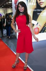 LIZZIE CUNDY at Professional Beauty Exhibition in London 02/25/2018