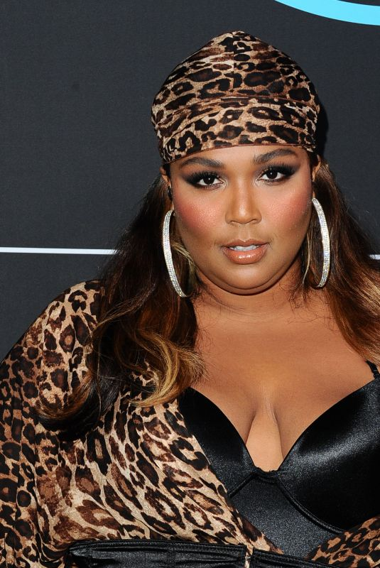 LIZZO at GQ All-Star Party in Los Angeles 02/17/2018