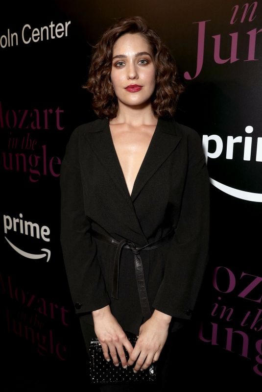 LOLA KIRKE at Mozart in the Jungle Season 4 Screening at Lincoln Center in New York 02/10/2018
