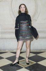 LOLA LE LANN at Christian Dior Show at Paris Fashion Week 02/27/2018