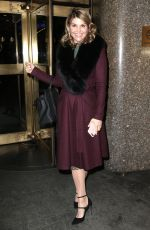 LORI LOUGHLIN at Today Show in New York 02/15/2018