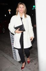 LORI LOUGHLIN Out for Dinner in West Hollywood 02/17/2018