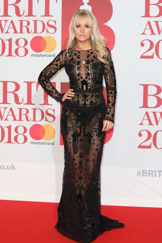 LOTTIE MOSS at Brit Awards 2018 in London 02/21/2018