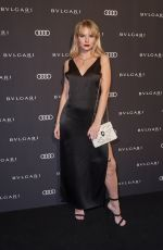 LOTTIE MOSS at Bvlgari #rvleyournight Party at 68th International Film Festival Berlinale 02/15/2018