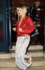 LOTTIE MOSS at Valentine Sozbilir Birthday Party in London 02/09/2018