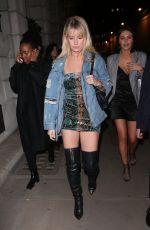 LOTTIE MOSS at Wonderland Magazine x MTV Party at London Fashion Week 02/16/2018