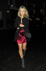 LOTTIE MOSS Leaves Soho House in London 02/09/2018