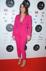 LUCIE JONES at Whatsonstage Awards in London 02/25/2018